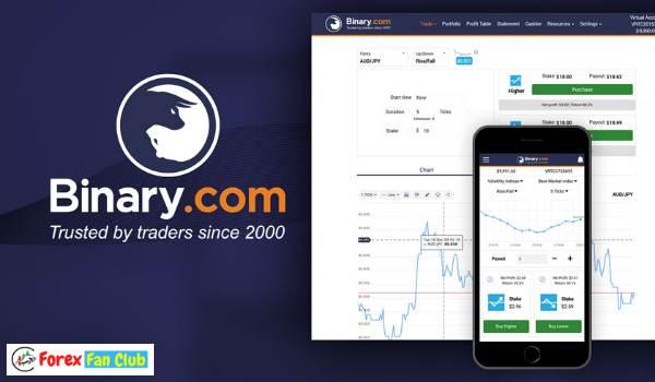 Binary.com - Sàn Binary option lâu đời nhất